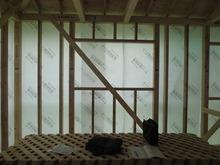ハウスメーカーさんから引き継ぎ当社の施工が始まります。