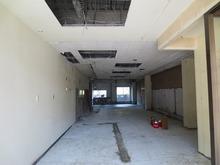 改修前のテナントの様子です。 テナントの奥の一角に防音室を施工します。