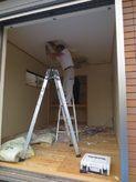 解体作業が始まりました。