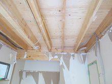 解体作業終了です。ここからいよいよ遮音補強をして防音室をつくり上げていきます。