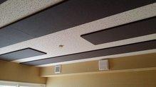 当社オリジナルの吸音パネルがはいりました。 お客様のお好みの音響空間に仕上げます。