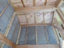 新築工事です。ハウスメーカーさんから引き継ぎ、当社の施工開始です。