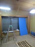 改修前のお部屋です。 和室が洋室に大変身します。 できあがりが楽しみです。