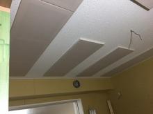 吸音パネルも設置完了です。 当社の防音室は音響にも力をいれています。