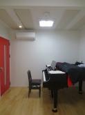 ピアノも入り、オープンの準備が整いました。