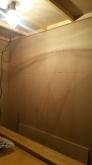 遮音壁・天井が完成しました。