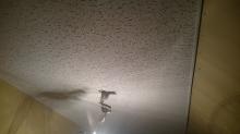遮音天井が仕上がりました。