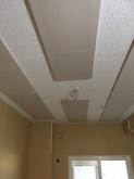 吸音天井ができあがりました。 弊社は遮音はもちろんですが音響にも力を入れています。お客様のお好みの音響空間に仕上げます。