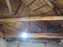解体後の天井です。