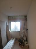 工事が始まりました。 解体作業を行っています。