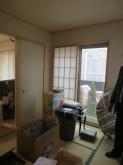 改修前のお部屋です。 和室が洋室に生まれ変わります。
