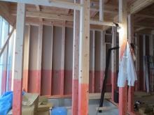 ドラム室なので床はコンクリート仕様で計画しています。