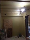石膏ボードを張って防音室側の壁が出来上がりです。