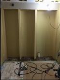 可動式の楽譜棚を設けました。 弊社のもく工事完了です。