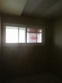 陽の光が入るお部屋に仕上がりました。 クロス施工後が楽しみです。