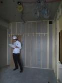 弊社の木工事が始まります。