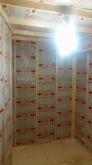 空気層にはぎっしり断熱材を詰めています。 気密性の高いお部屋に仕上がります。