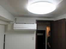 完成です。 天井の吸音パネルは弊社オリジナルです。