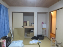 改修前のお部屋です。 和室が洋室に大変身します。