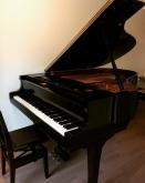 お客様から頂いたお写真です。 ピアノが入るとまた雰囲気がかわります。