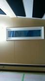 天井に吸音材を設置しました。 ドラム室なのでクロス施工後に壁にも吸音パネルを設置してデットな空間に仕上げます。