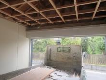 改修前の車庫です。
