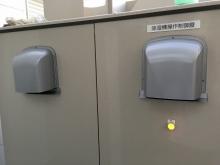 換気扇も取り換えて騒音対策です。