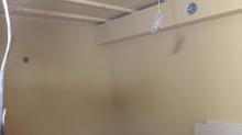 第2遮音壁が出来上がりました。