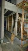 ガレージ側に増築のため、基礎工事を行いました。