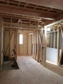 本体工事が進み、現地調査に伺いました。 ジョイント工事の場合は本体工事に合わせて工事に入ります。
