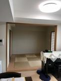 改修前のお部屋です。リビング続きの和室です。