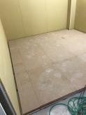浮き床が完了しました。