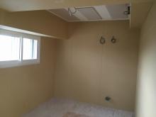 第2遮音壁が出来上がりました。 天井は吸音天井に仕上げています。