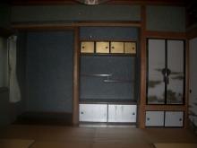 改修前のお部屋です。 仏間や床の間は残します。