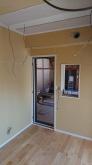 防音壁と吸音天井が完成です。