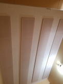 吸音天井が完成しました。