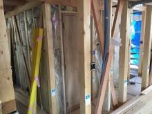 木工事が完了しました。