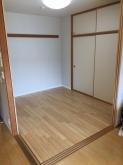 和室の床張り替え完了です。