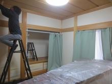 改修前のお部屋です。 既設の押入れは解体します。