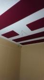 吸音天井が完成しました。 音の響きを調整して長時間の演奏にも疲れにくい音響空間に仕上げています。