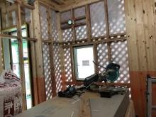 弊社のっ木工事が始まりました。