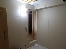 第2遮音壁と天井ができあがりました。
