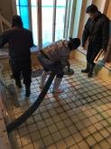 浮き床コンクリート工事に入りました。
