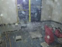 解体作業のみお客様が手配されました。