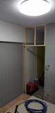 お部屋の入り口にはスチール製の防音ドアを設置します。