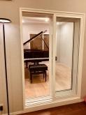 お客様からお写真を頂きました。 ピアノが入るとまた雰囲気が変わります。