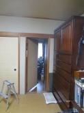 改修前のお部屋です。 和室から洋室に大変身します!