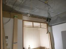 収納はそのまま防音室から使えるように建具を樹脂サッシの掃き出し窓に変えます。