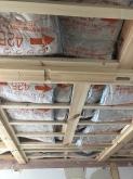 躯体天井の遮音補強です。