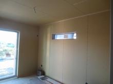 改修前のお部屋です。 建築中にお邪魔しました。